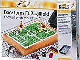 "Backform ""FUSSBALLFELD"" in Geschenkbox MIT REZEPT"