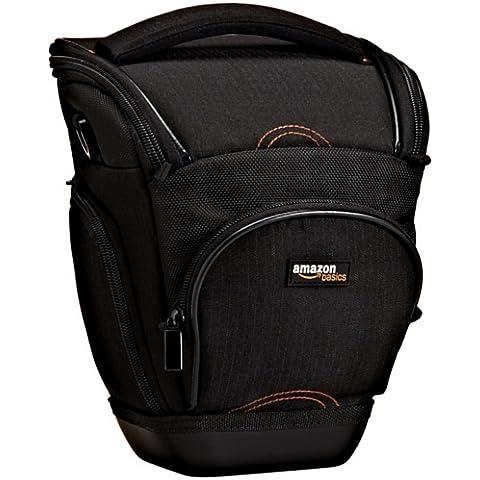 AmazonBasics - Funda para cámara de fotos réflex, color negro