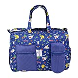 #9: MomToBe Blue Kitty Printed Baby Diaper/Nappy Changing Bag