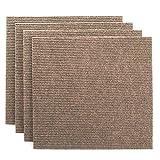 Premium Teppichfliesen Nadelfilz - 1m² - beige - selbstklebend