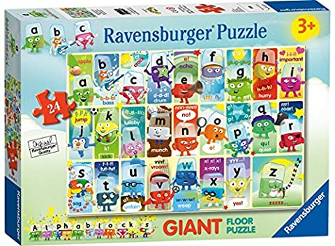 Ravensburger Alphablocks Giant Floor Puzzle (24-piece)