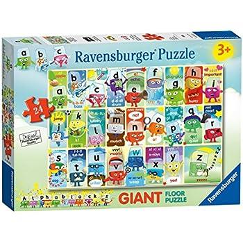 Ravensburger Alphablocks 24pc Giant Floor Jigsaw Puzzle