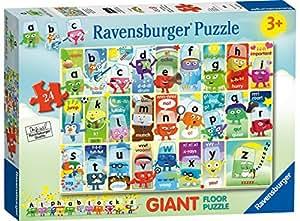 Ravensburger Alphablocks, 24pc Giant Floor Jigsaw Puzzle
