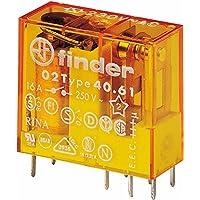Finder serie 40 - Rele mini reticulado 5mm 1 conmutado 16a 230vac