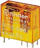 Finder Steck/Printrelais 230 V AC, 1 W, 16 A, 1 Stück, 40.61.8.230.0000