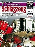 Einsteigerkurs Schlagzeug (Buch/CD/Doppel-DVD/Poster)