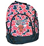 Chicago Bulls Rucksack / Backpack Rot Schwarz Limited
