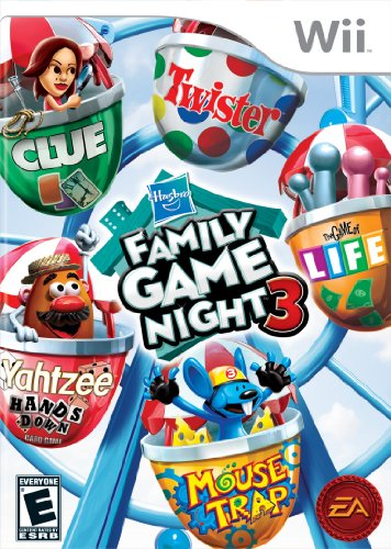 Hasbro Family Game Night 3 - Nintendo Wii by Electronic Arts (Family 3 Game Night)