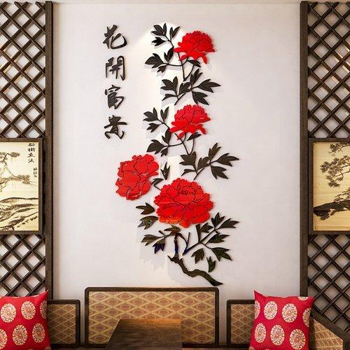rugai-ue-adhesivo-de-pared-florecimiento-restaurante-dormitorio-decoracion-murales2084-m