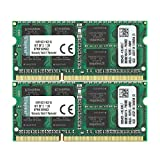Kingston KVR16S11K2/16 Arbeitsspeicher 16GB (DDR3 Non-ECC CL11 SODIMM Kit, 204-pin 1,5V)