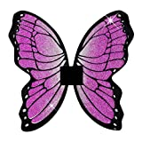 Glitter Butterfly Wings 50x50cm Accessory for Fancy Dress