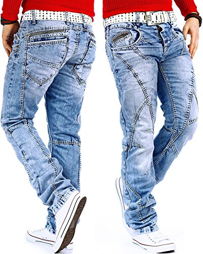Cipo & Baxx -  Jeans  - Uomo Blau