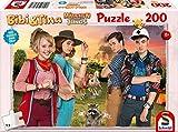 Schmidt Spiele Puzzle 56178 Bibi und Tina, Puzzle zum Film 3, Mädchen gegen Jungs, 200 Teile