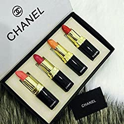 CHANEL 4 PCS LIPSTICKS COMBO SET