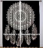 Handicraft-Palace Dream Catcher Mandala Gardinen Fall Door Hanging Balkon indische Baumwolle Vorhang Set Decor
