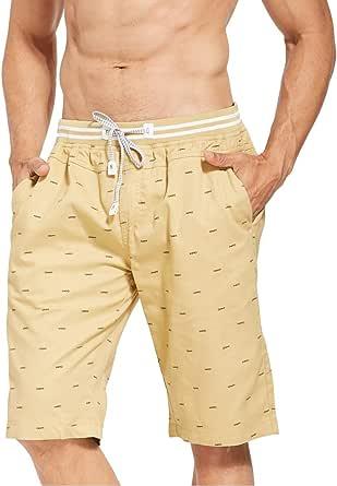 Tansozer Shorts Men Summer Swim Shorts with Pocket Elasticated Waist