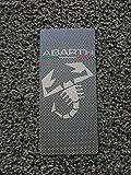 Tuning Trittbrett Fußschemel Edelstahl + Druck UV Ultra Violet Carbon 18x 8cm mit Kit Klettband enthalten
