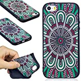 DENDICO Coque iPhone Se / 5S / 5, Ultra Mince Silicone Coque pour Apple iPhone Se /...