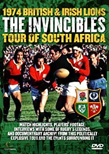 The Invincibles - The 1974 Lions Rugby Tour of South Africa [DVD]