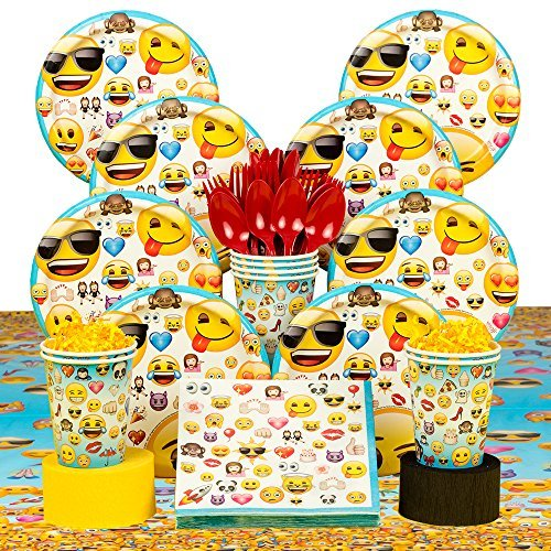 y Party Tableware Kit (Serves 8) by Costume SuperCenter ()