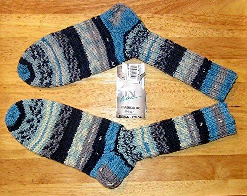 Handgestrickte/selbstgestrickte/Socken/Online Sockenwolle/8 fach/fädig/Gr 37/39 Damen/Herren/Socken/Söckchen/Strümpfe