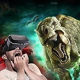 """Gafas VR 3D, ZOGIN 3D Gafas de Vídeo Virtual con Lente y Correa Ajustable para Smartphones Apple iPhone / Android / Sistema IOS de 4.7-6.0"""", como iPhone 6 Plus/6S/6/5/5S, Samsung Galaxy S7/S6/S5, LG G3/G4, Google Nexus y Mucho Más, Color Negro"""