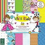 Whiz Kids AS Kids Decoupage-Papier, FSC 20,3x 20,3cm Pad