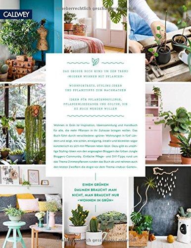 Wohnen in Grün: Dekorieren und stylen mit Pflanzen