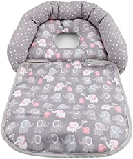 Forberesten Baby Infant Head Support Soft Neck Support Pillow for Car Seat, Strollers(H01)