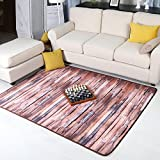 GAOJIAN Persönlichkeit Retro Teppiche Mode Kreatives Wohnzimmer Teppich Sofa Couchtisch Schlafzimmer Nachttisch Rechteckiger Teppich, a, 70x140cm