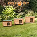 Cozy Pet Insulated Wooden Dog Kennels Three Sizes With Removable Floor For Easy Cleaning Dog House Dog Kennels Dog Houses… by Cozy Pet