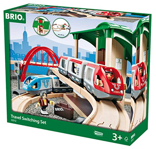 *Brio 33512 – Großes Bahn Reisezug Set*