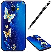 Galaxy A52017móvil, Galaxy A52017silicona teléfono móvil, Goldschmetterling