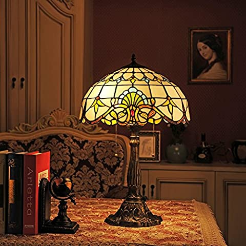 Lampe Tiffany - Gweat 16-Inch baroque européenne Tiffany Table Lamp