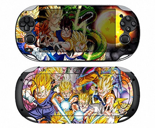Dragon Ball 272 Vinyl Skin Sticker Cover Protector for Sony Playstation PS Vita PSV by Cool Colour