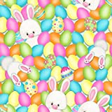 Ostern Stoff–Ostern Hasen Eier