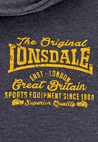 Lonsdale Zip Hoody Westerdale blu navy