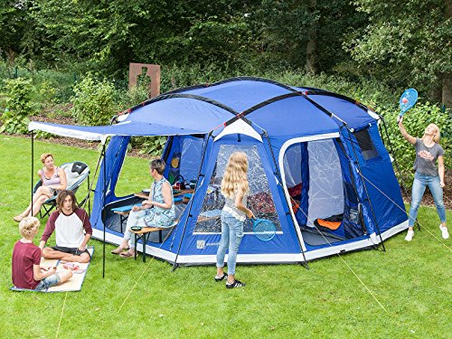 skandika Copenhagen Large 8 Person Man Family Tent ... & skandika Copenhagen Large 8 Person Man Family Tent with Sewn-in ...