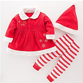 91663187a4ea2f Chickwin Bambino inverno Natale Costume Cosplay inverno del bambino di  natale Neonato Costume Hat Outfit
