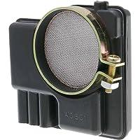 sourcingmap/® 76mm 3 Filtro dell Aria a Cono per Motore di Automobile Amaranto