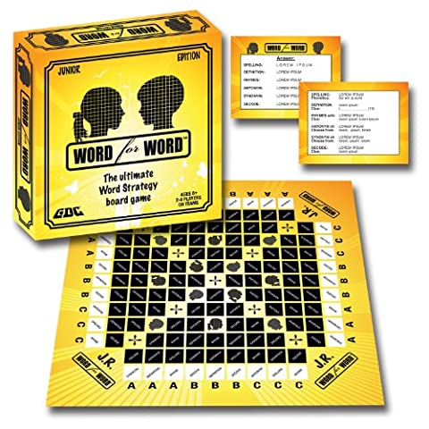 Word for Word Junior Board Game (Junior Board)