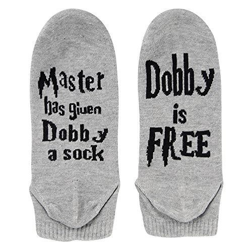 Calcetines Dobby es libre - tobilleros unisex 2 Pack (Grey)