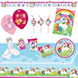 Amscan 9902644 Party Set Unicorn