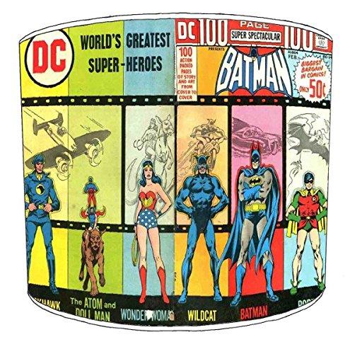 30,5cm Tabelle batman wonderwoman comic childrens Lampenschirmes