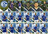 PANINI ADRENALYN XL FIFA 365 2019 Full 18 Card FC Schalke 04 Team Set