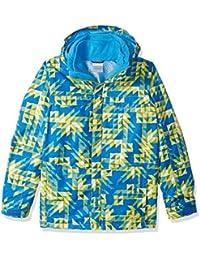 Columbia Bugaboo–Boy de esquí pantalones, Niños, Ginkgo Checkers Print