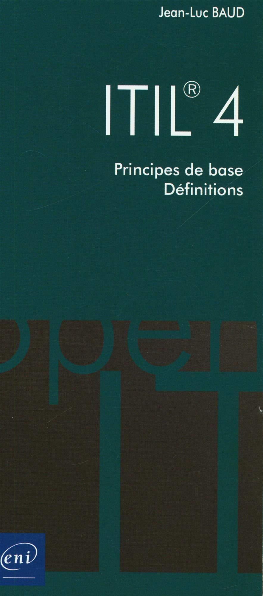 ITIL® 4 - Principes de base - Définitions