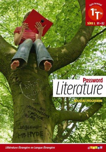 Password Literature 1re Tle L (éd. 2012) - Livre