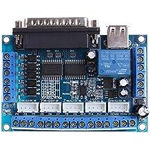Cable Del USB Demiawaking Mach3 Conductor Del Motor Del Paso De Progresión Del CNC Adaptador Del Interfaz Tablero Del Desbloqueo + Cable Del USB