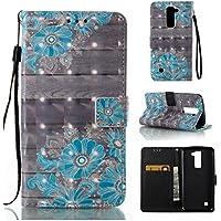 Cozy Hut LG K7/LG K8 Hülle Wallet Case, Bookstyle Handy hülle Premium PU-Leder Tasche Flip Case Brieftasche Etui Schutz Hülle für LG K7/LG K8 Ledertasche Tasche Handyhülle Schutzhülle Cove